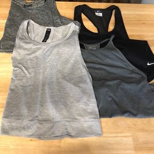 Bundle of Workout Tops - all size Medium!